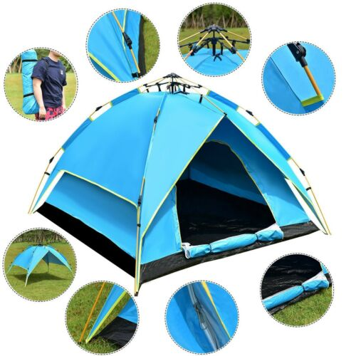 2-3 Persons Lightweight Automatic Hydraulic Outdoor Camping
