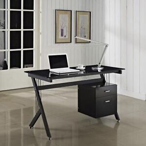 glass desks for home office design ideas glass computer desk home office desks ebay