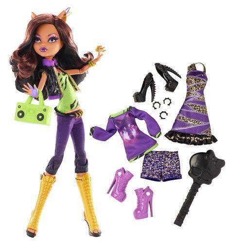 monster high clawdeen wolf doll ebay. Black Bedroom Furniture Sets. Home Design Ideas