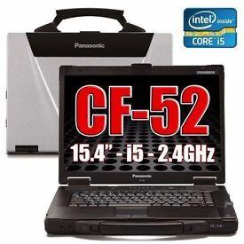 Panasonic Cf-52 Toughbook Laptop 8Gb 240gb ssd Windows 10 32/64 Bit Rugged.