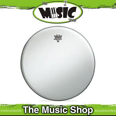 Ambassador Coated White Drum Head - New Remo 18