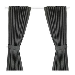 4 Panneaux de rideaux ''INGER'' Ikéa (2 paires)