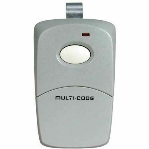 Linear Multi-Code 1-Channel Visor Transmitter 300MHz Remote Control MCS308911