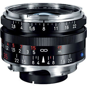 Zeiss 35mm 2.8 ZM and 50mm 2.0 ZM: both for Leica M