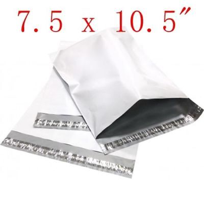 7.5 X 10.5 Poly Mailers Plastic Envelopes Shipping Bags 50 100 200 300 500 1000
