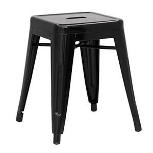 RESTAURANT TOLIX STYLE METAL BAR STOOL COUNTER STOOL LOW STOOL