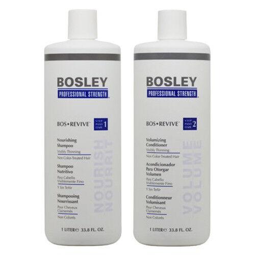 Bosley Bos Revive Shampoo & Conditioner for Non Color-Treate