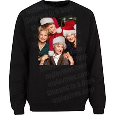 The Golden Girls Sophia Ugly Christmas Sweater Men's Women's T-Shirt Tee NEW - Girls Ugly Sweater