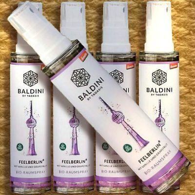 Baldini Bio-Raumspray FEELBERLIN Demeter Raumduft bio Vanille Grapefruit Orange