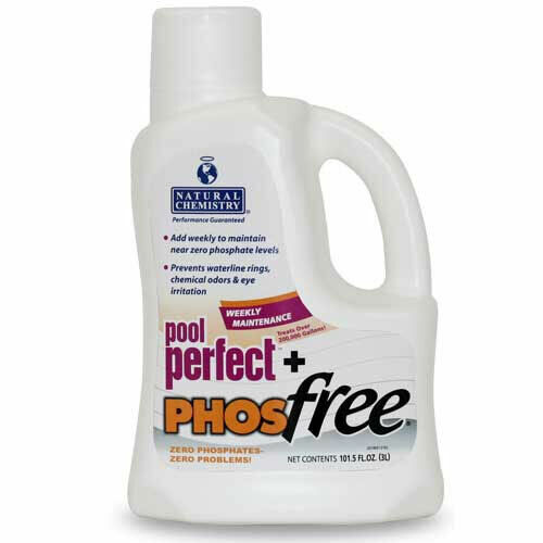 Natural Chemistry Swimming Pool Perfect + Phosfree Algae Preventer 3 Liter 05131
