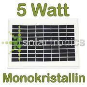 Solarmodul 5W