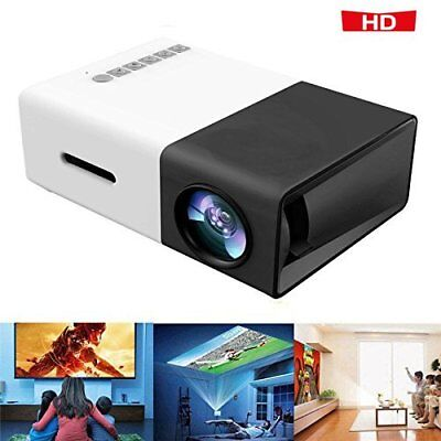 YG300 1080P Home Theater Cinema USB HDMI AV SD Mini Portable HD LED Projector MX