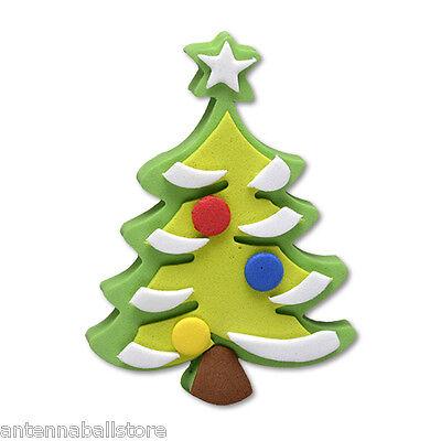 Tenna Tops Merry Christmas Tree Car Antenna Topper / Car Mirror