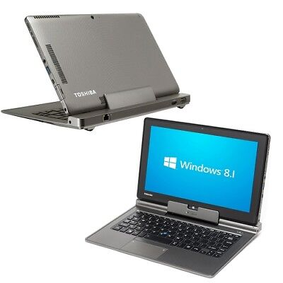 "Toshiba Portege Z10t 128GB 11.6"" i5-4210Y Convertible Ultrabook/Tablet Win 8 Pro"