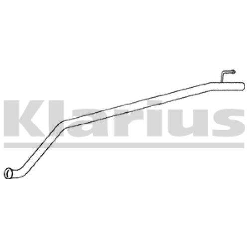 1x KLARIUS Replacement Exhaust Pipe Exhaust For OPEL, RENAULT, VAUXHALL Diesel
