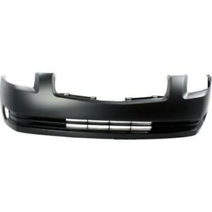 2004-2006 Nissan MAXIMA Bumper Front Primed With Fog Light Hole