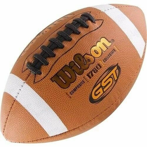 """Wilson Composite Leather Game ball NFHS certified and stamped """"GST 1780"""""""