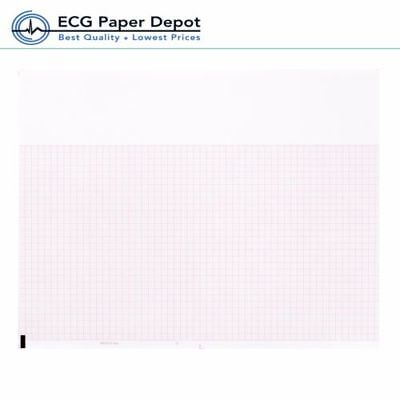 Ecg Ekg Thermal Paper 8.50x5.5 Burdick 7984 Quest Eclipse Machines 8 Packs