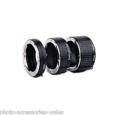 Ohnar Canon EOS Auto Tubo de Extensión Macro Fotografía Digital Cámaras Película