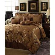 King Comforter Set Gold