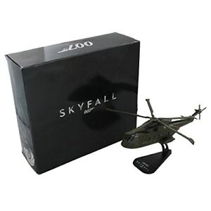 James Bond Skyfall 007 Helicopter Die Cast 1:100 AW101 New Sealed