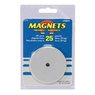 New Master Magnetic 7217 25lb 2 Lift Round Magnet Base 9388091