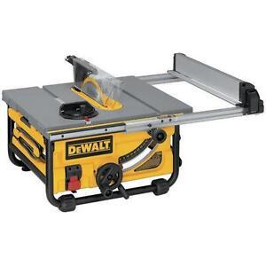 Table saw rigid craftsman ryobi bosch new used ebay dewalt table saws greentooth Image collections