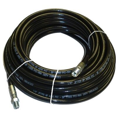 14 X 50 Sewer Cleaning Jetter Hose 4400 Psi