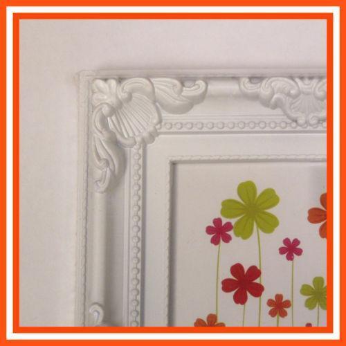white 12 x 8 photo frame ebay. Black Bedroom Furniture Sets. Home Design Ideas