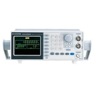 Instek Afg-2025 Arbitrary Waveform Function Generator 25mhz