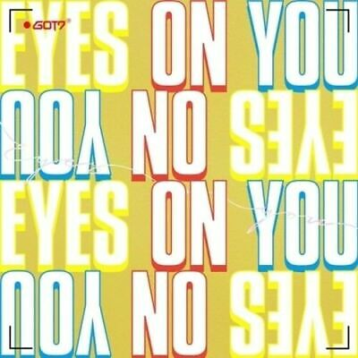 GOT7-[Eyes On You]Mini Album RANDOM CD+LyricPoster+PhotoBook+Card+Gift