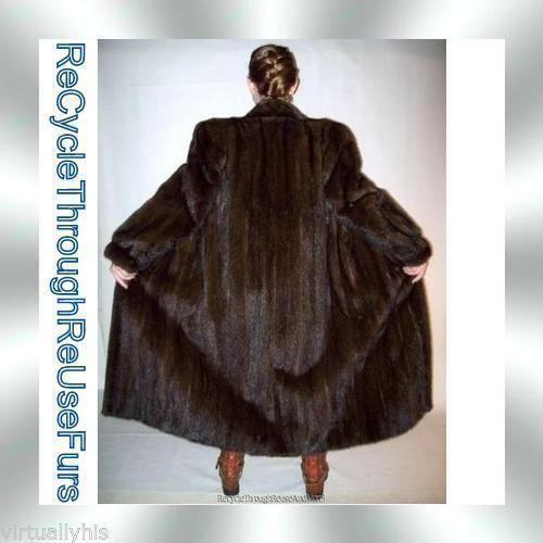 Vintage Real Fur Coat Ebay