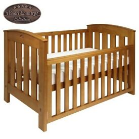 Boori Childs Cot Bed And Mattress Country Collection From John Lewis