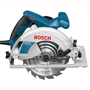 Bosch GKS190 190mm Hand Held Circular Saw 240v with TCT Blade & Carry Case