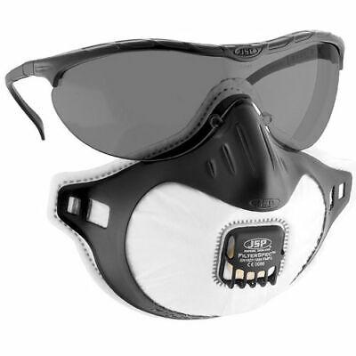 JSP Filter Spec Atemschutzmaske mit 3x JSP FFP2 Ersatzfilter