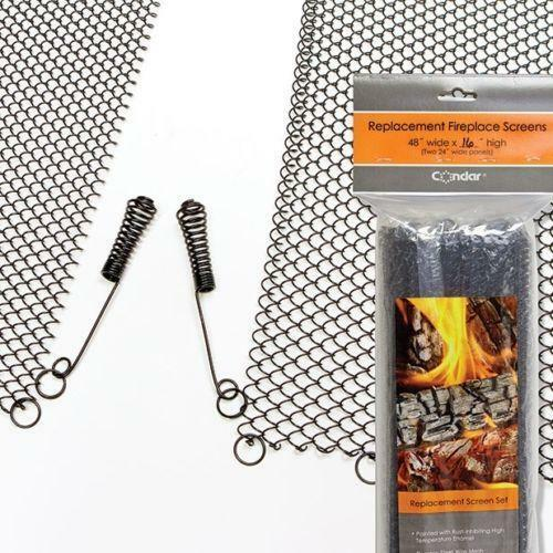 Fireplace Mesh Curtain   eBay