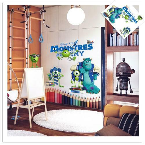 Monsters Inc Wall Stickers Ebay