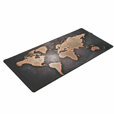 World Map Mouse Pads Full Desk Coverage Gaming Office New Mousepad Large Fashion