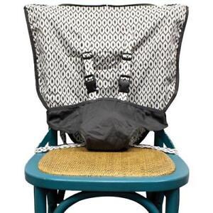 Mint Marshmallow Travel Seat - Grey .