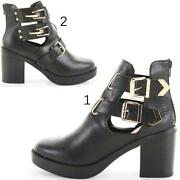 Girls heeled Boots Size 1