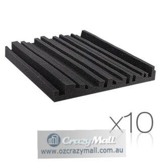 10x/20x Metro Acoustic Foam 50x50cm Sound Absorption Panel