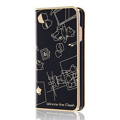 iPhone 6 / 6s Disney metal book leather case Winnie the Pooh RT-DP9N / PO japan