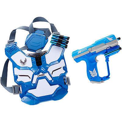 Neu Boomco Halo Unsc Spartan Assault Armor Pack Kampfausrüstung Set - Blau ()
