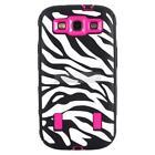 Samsung Galaxy s 3 Cover Case Zebra