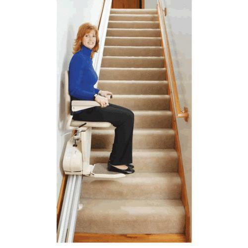 Stair chair lift ebay for Motorized stair chair lift