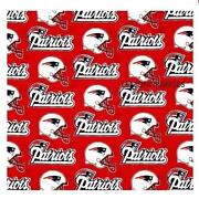New England Patriots Fabric
