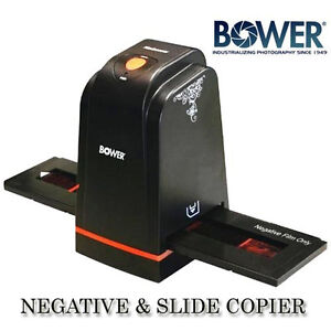 BOWER 5 Megapixels,3600 DPI USB Slide  Negative scanner Slide Copier Duplicator