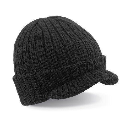Beanie Hat with Peak  681d9db2485
