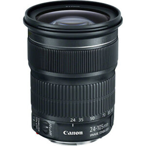 Canon 24-105 STM f/3.5-5.6 IS STM Lens
