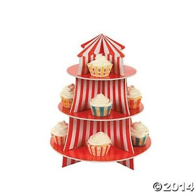 Circus Tent Decorations (Cupcake Holder Carnival Party Decoration Circus Tent Party Party Deseret Stand)